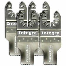 """4 x 3/4"""" Fine Tooth Oscillating Multi Tool Blades -fit Rigid Job Max Ryobi Plus"""