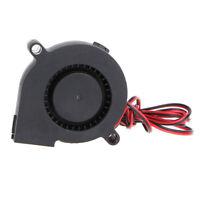 DC 12V  Blow Radial Cooling Fan end/Extruder Für RepRap 3D Drucker New