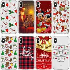 Case Cover Mickey Christmas For iPhone Samsung S9+ S8 Note 9