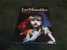 Les Miserables Magazine Cameron Mackintosh Piano Solos 1991 HL00290271