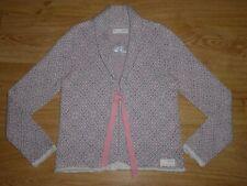 Odd Molly 132 Multi Tie Up Shawl Neck Stranded Knit Cotton Cardigan Top 2 12 M P