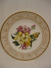LENOX FLOWERS OF THE WORLD PLATE BY BOEHM- RHODODENDRON  1979