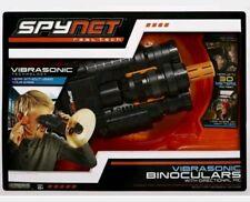 NEW SpyNet Vibrasonic Binoculars With Directional Microphone Spy Net 100FT Range