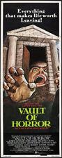 Vault Of Horror Movie Poster Insert 14x36 Replica