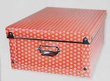 Geometrics Collapsible / Folding Storage Box - Red - BNWT