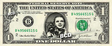 DOROTHY & TOTO Judy Garland Wizard of Oz on a REAL Dollar Bill Cash Money Bank $
