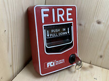 FCI BG-12L With Keys Fire Alarm Pull Station Conventional or Addressable MS-7A