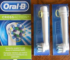 Oral B Braun CrossAction Replacement Rechargeable Toothbrush Heads