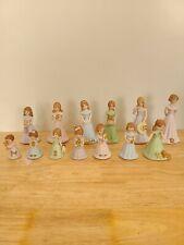 Hallmark Enesco Growing Up Birthday Girl Porcelain Dolls 1-13