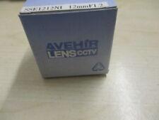 """AVEHIR 12MM F1.2 CCTV LENS SSE1212ni CAMERA LENS 1/3""""CS"""