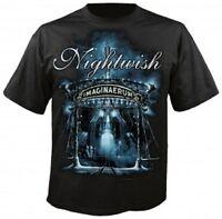 NIGHTWISH - IMAGINAERUM T-SHIRT  (Size/SIZE M,SCHWARZ/BLACK)  NEW+