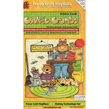 COOK-IE CRUMBS Borders Frames Sayings Images Everyday Provo Craft HugWare CD 8