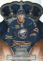 2010-11 Crown Royale Hockey #11 Thomas Vanek Buffalo Sabres