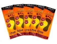 5x Fuß Thermopad für Schuhe | Zehenwärmer | Fußwärmer | Wärmesohlen Thermosohlen