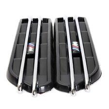 Decorative Air Flow Fender Side Vents Hole Grille For BMW E90 E91
