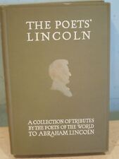 THE POET'S LINCOLN COLLECTION OF TRIBUTES 1915 ILLUS RARE + 4 MEMORIAL POSTCARDS