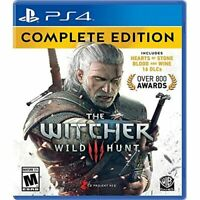Witcher 3: Wild Hunt Complete Edition Complete Edition For PlayStation 4 PS5 5E