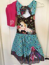 My Little Pony Appliqué Custom Boutique Dress,leggings 5/6 Girl's Etsy Handmade