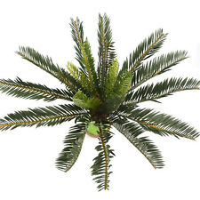 Artificial Palm Tree Green Large Leaf Plants Plastic Leaves Garden Decoration