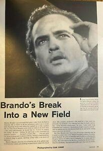 1960 Marlon Brando As A Producer illustrated