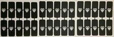 30 X Plantillas Uñas de diamante (mixta) Para Aerógrafo Regalo Presente