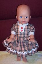 "Vintage Old Mattel Little Mommy 13"" Blue Eyes All Vinyl Baby Doll Guc"