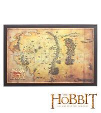 Le Hobbit Carte de la Terre du Milieu Collector NN1312