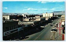 *1960s Grand Junction Colorado Main Street View Furniture Empire Postcard C20