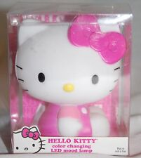 "HELLO KITTY COLOR CHANGING LED MOOD LAMP NIGHT LIGHT ""CUTE"""