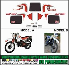 kit adesivi stickers compatibili  ELEFANT 125 1984