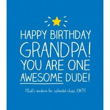 Happy Jackson Card: HAPPY BIRTHDAY GRANDPA - New Cello POST DAILY