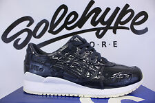 ASICS GEL LYTE III 3 PATENT LEATHER INDIA INK H7H1L 5858 SZ 10