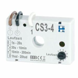Zeitschalter CS3-4 Unterputz Nachlaufrelais ohne Nulleiter z.B. zu Ventilatoren