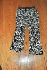Girls~Juicy Couture~Animal Print Logo Terry Sweat Pants~Size M(10-12)~Cute~