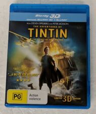 THE ADVENTURES OF TINTIN Blu-ray 3D + 2D Blu-ray 2-DISC Region B oz seller