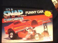 It's A Snap Funny Car Chromies 1/32 Built Model kit