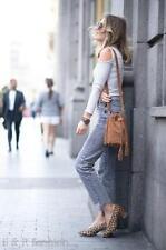 Zara Animal Print Court Heels for Women