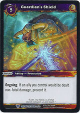 WARCRAFT WOW TCG CAVERNS OF TIME : GUARDIAN'S SHIELD X 4