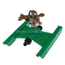 A#S0 Rotating H-shape Base Plant Watering Metal Sprinkler Lawn Irrigation Kits