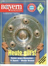 BL 88/89 FC Bayern München - SV Werder Bremen