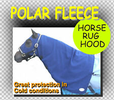 COMFORT~ POLAR FLEECE HORSE RUG HOOD~VERY NICE CUT~L~