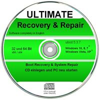 Ultimate Boot & Repair CD für Windows 10,8,7,XP,  Diagnose & Reparatur Software