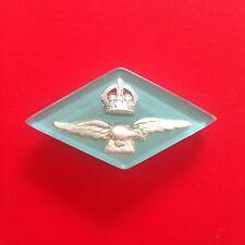 Vintage Art Deco Lucite RAAF ROYAL AUSTRALIAN AIR FORCE Sweetheart Brooch Pin