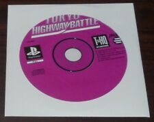 PS1. Tokyo Highway Battle (PAL AUS/EUR) Sony Playstation game.