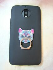 Tribal Cat Phone Ring Finger Grip Stand - Universal Kitty Mobile Cell Holder