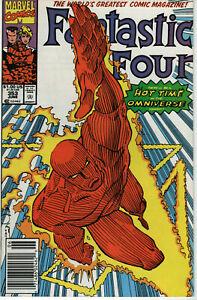 FANTASTIC FOUR #353 1ST APP MR MOBIUS NEWSSTAND VARIANT UPC 1991 LOKI MCU