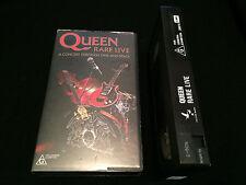 QUEEN RARE LIVE AUSTRALIAN VHS VIDEO