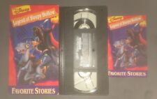 Disneys Favorite Stories - The Legend of Sleepy Hollow (VHS,1994) RARE