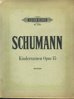 "Schumann : "" Kinderszenen Opus 15 "" ( Ruthardt )"