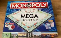 MONOPOLY THE MEGA EDITION Game - USED - FAST SAME DAY POST